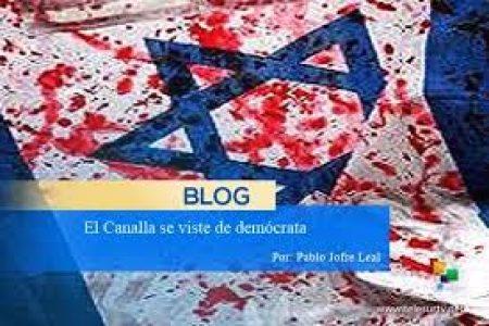 Palestina. El Canalla se viste de demócrata