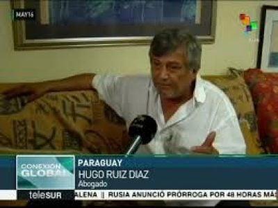"""Paraguay: """"La clase política está absolutamente al costado de la"""