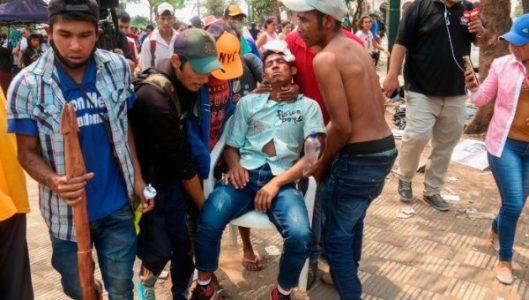 Paraguay. Policía reprime a campesinos e indígenas