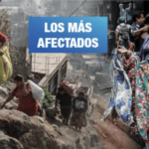 Perú. Grupos vulnerables al COVID-19: en pobreza, sin agua y en la informalidad