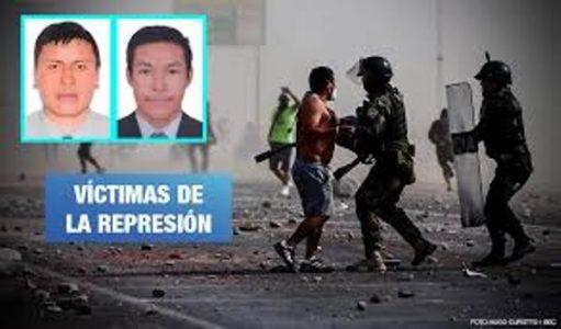 Perú. Isaac Ordoñez y Andy Panduro: Dos civiles hospitalizados por