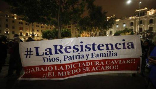 Perú. Ministro anuncia investigación a grupo de extrema derecha