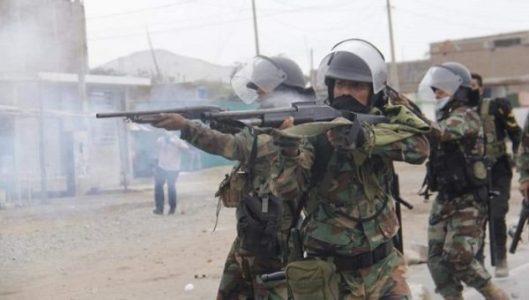 Perú. Paro agrario: sancionarán a policías que usaron armas de