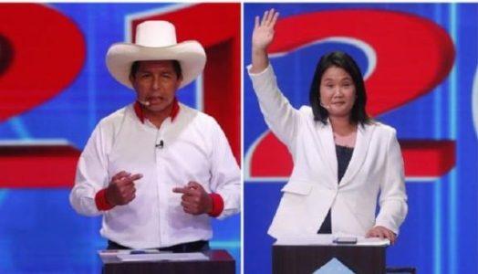 Perú. Pedro Castillo con 18,29% sigue primero en el conteo