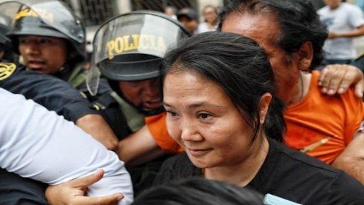 Perú. Justicia revoca prisión preventiva para Keiko Fujimori