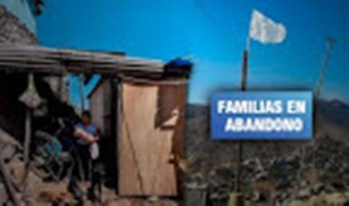 Perú. Las banderas blancas del hambre en los cerros de