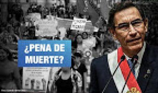 Perú. Señor presidente, no somos su cortina de humo