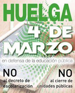 Por la educación pública ¡NO al decreto de escolarización! – La otra Andalucía