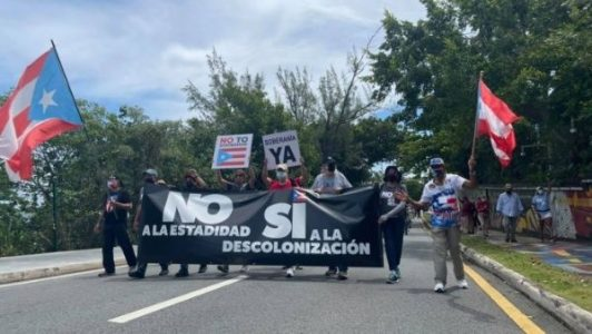 Puerto Rico. Realizan marcha independentista en vísperas del Grito de