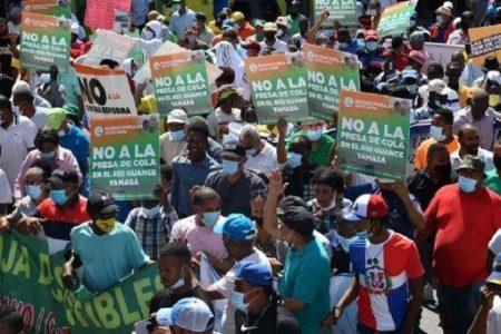 República Dominicana. Activistas marcharon contra contaminación ambiental