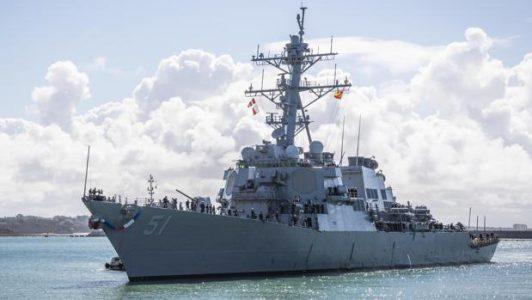 Ridículo de la marina militar española