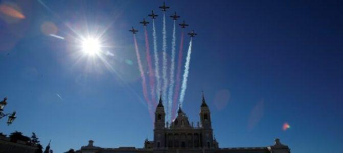 Ridículo del ejército español: se equivocan con los colores de la bandera (vídeo)