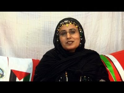 Sáhara Occidental. Mensaje de la periodista Fatma El Galia Ahmed