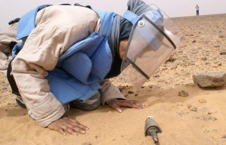 Sáhara Occidental: Mujeres jóvenes desminadoras arriesgan sus vidas para limpiar