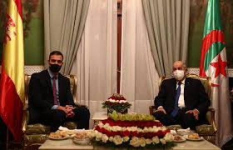 Sánchez visita Argelia, ¡qué bueno que dimos un golpe de estado!
