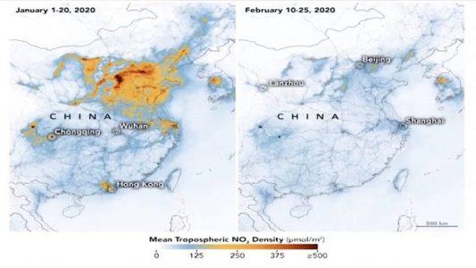 Se reduce drásticamente la contaminación en China a causa de la crisis de coronavirus – La otra Andalucía