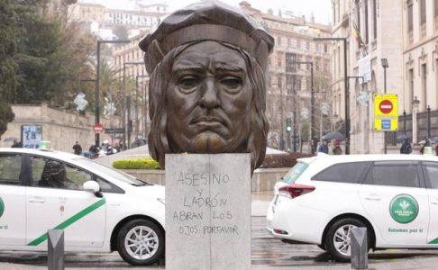 Señalan como «asesino y ladrón» al Gran Capitán boicoteando su escultura – La otra Andalucía