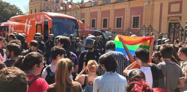 Sevilla: Recaudación para las procesadas en la movilización contra el autobús tránsfobo