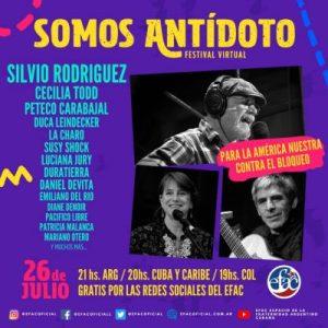 Silvio Rodríguez y artistas de Argentina, en concierto on line contra bloqueos, golpes y fascismo – La otra Andalucía