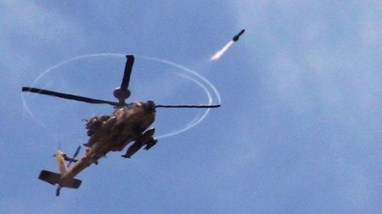 Siria. Helicópteros de Israel atacan con misiles posiciones en el