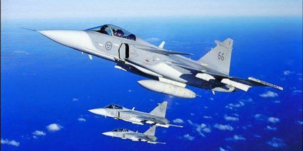 Suecia (referente del progrerío) buscó bombardear Afganistán para publicitar sus aviones de combate