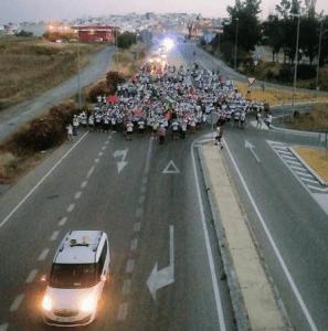Trebujena marcha a pie hasta Jerez en defensa de la sanidad pública y contra su privatización – La otra Andalucía