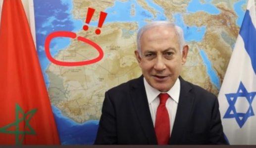 Un mapa del Sáhara Occidental en el despacho de Netanyahu tensa las relaciones Israel-Marruecos