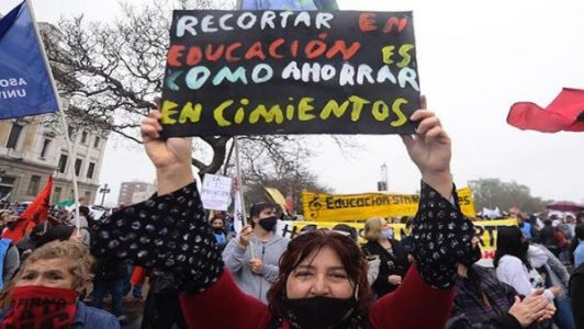 Uruguay. Profesores uruguayxs inician paro nacional de 48 horas