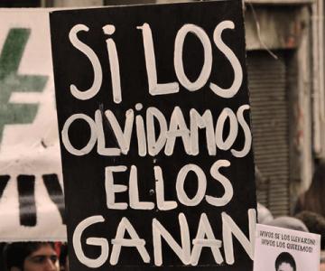 Uruguay. Cuarentena con memoria: Proyectan leyendas exigiendo justicia por crímenes