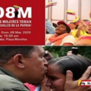 Venezuela. Un número especial del periódico Cuatro F dedicado al 8 de marzo